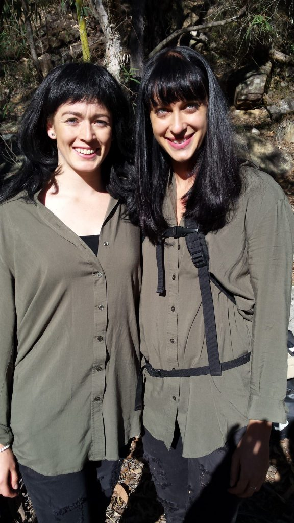 Marlee as a stunt double to Jessica Falkholt from Home and Away