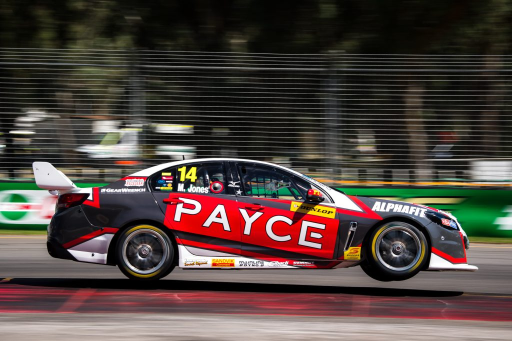 Macauley Jones in action in the Dunlop Super2 Series, 2017 Supercars Championship Round 1. Clipsal 500, Adelaide. Image: Daniel Kalisz Photographer (Copyright)