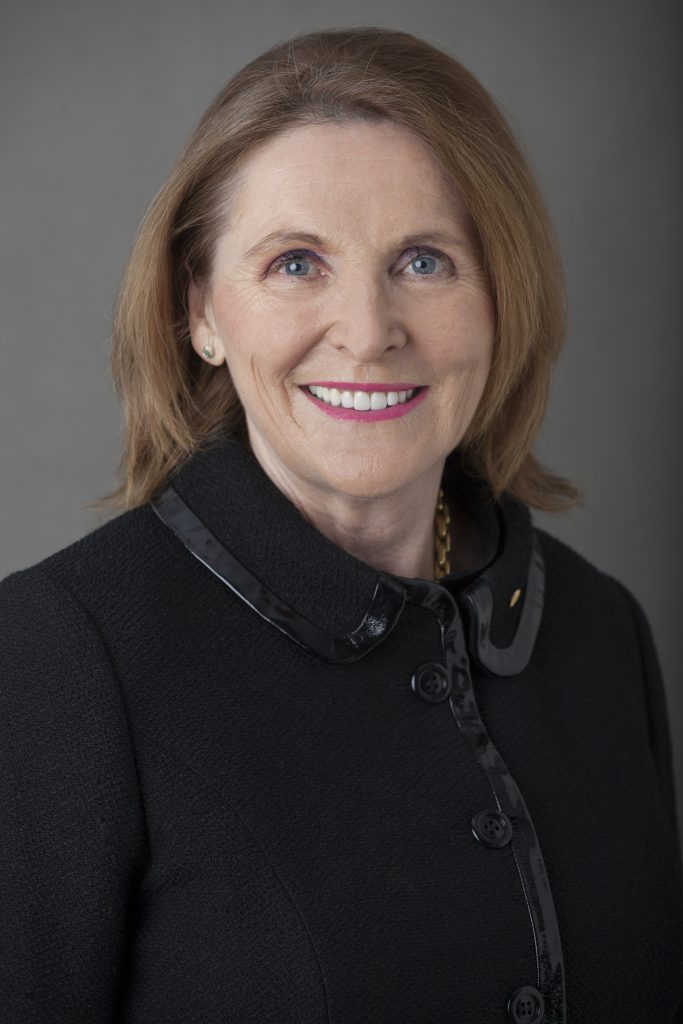Wendy Simpson OAM, an inductee into the Australian Business Women's Hall of Fame.